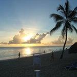 8 am on the beach