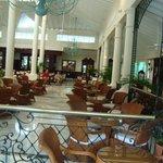 The main lobby of Bahia Principe Ambar