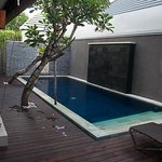The private pool - great size