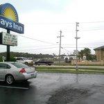 Days Inn entrance area