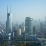 View from the Room (58th floor, overlooking People's Square and Pudong)