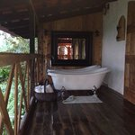 Tree house bathtubs