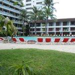 main pool beach area