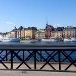 From the Skeppsholmen island bridge