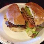 Chile verde burger
