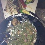 pasta truffle and fish
