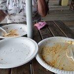 lunch demolished yum yum