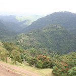La Bestia fininshing point at the peak of the mountain