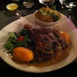 Plat de résistance : cuisine de canard aux champignons avec une purée divine!