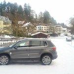 парковка рядом с отелем