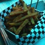 Les frites fraiches