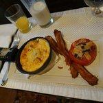 Das sehr leckere Frühstück