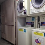 coin laundry at the main bulding