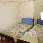 Clean but windowless room