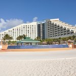 Hotel from the beach site
