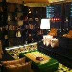 Library at Hotel Indigo