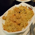 Macaroni and cheese - filling and very tasty!