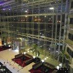 Nice contemporary reception area