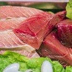 Ventresca,morrillo y mormo de atún rojo