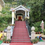 Small temple in the hotel