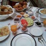 El desayuno!!