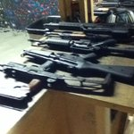 Selection of automatic weapons
