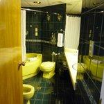 バスルームも広くてゆったり使えました。