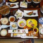 別注の5250円の夕食