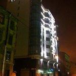 Отель Балтия. Вид с ул. Смолячкова