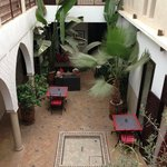 View of Riad from our room