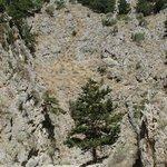 Panorama nella Gola di Imbros