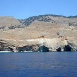 Dal traghetto Chora Sfakion - Loutro: calette selvagge