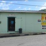 Marlene's Roti Shop, Speyside village