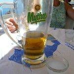 Cold beer at Fanari