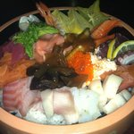 chirashi bowl....so fresh!!