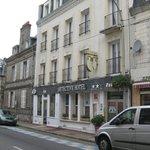 Детектив отель, вид с улицы