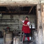 Colonial Quarter- Blacksmith demo