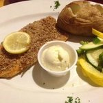 pecan-encrusted trout