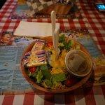 Der leckere Salat mit dem Super Dressing