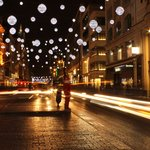 Oxford street Santa