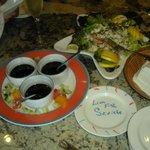 avant-garde dining Lionfish serviche