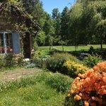 Beautiful, rustic lodging & impressive landscaping