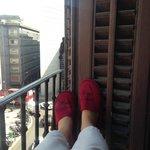 наш балкон)