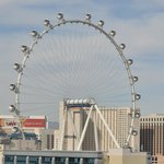 New Wheel in Vegas, from our balcony