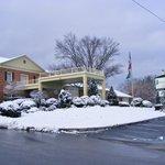 O.U. Inn on a snowy saturday