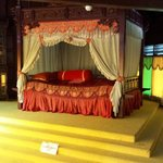 The bed of Malacca Sultan