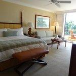 Beautiful ocean view room