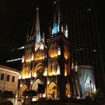 Igreja a frente hotel Ibis RJ