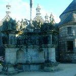 Les 7 calvaires monumentaux de Bretagne: Plougastel Daoulas: Francia: Guimiliau