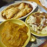 Luncheon Haddock & Vegtables